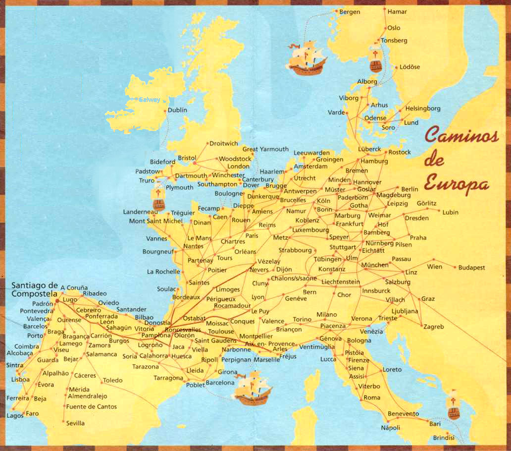 Following the footprints of the Camino in Germany on