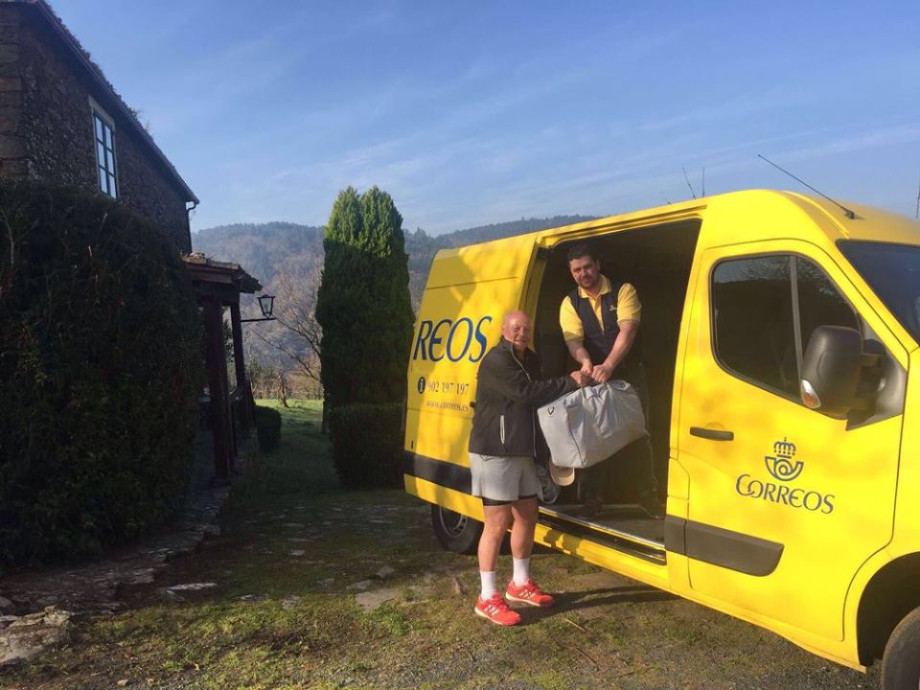 rucksack transfer Camino Santiago