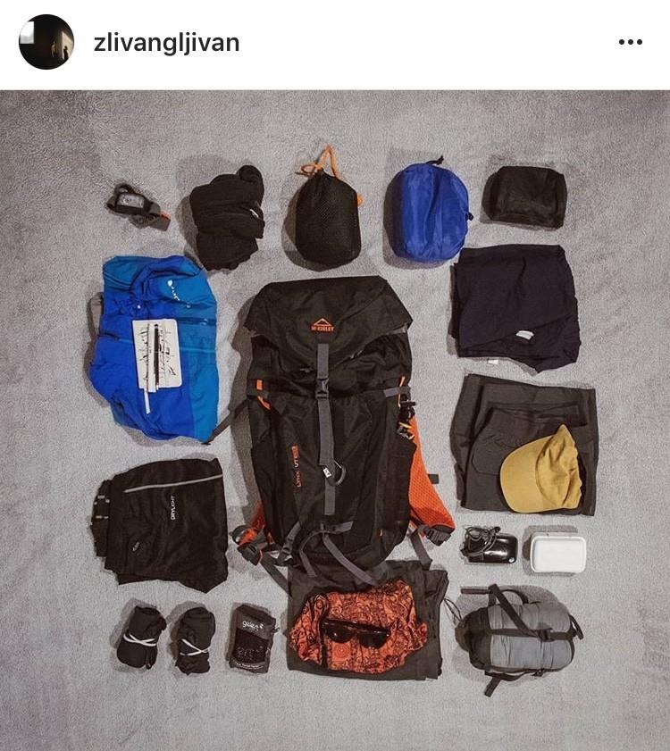 la mochila del camino