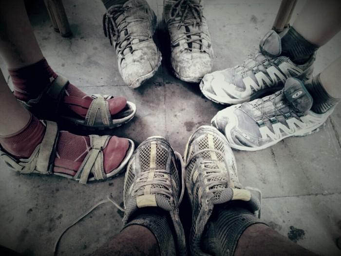 los pies los protagonistas del camino