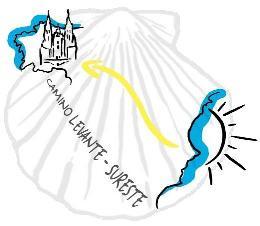 Logotipo Camino de Santiago Levante - Sureste