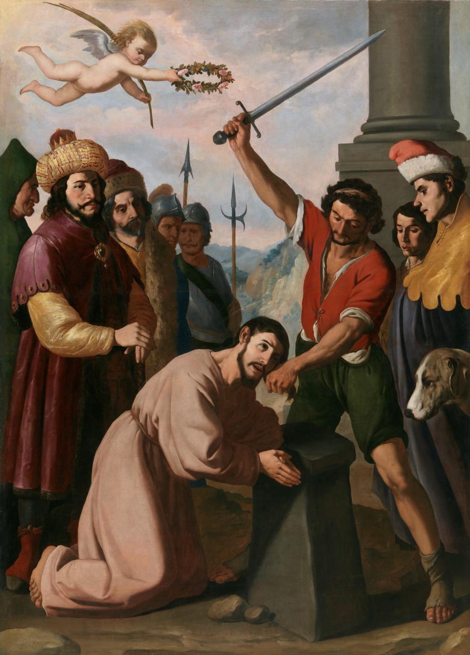Martirio de Santiago. Zurbarán