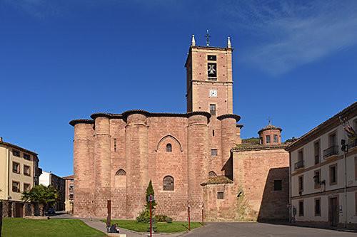 Monasterio de Santa María la Real Románico en el camino de Santiago