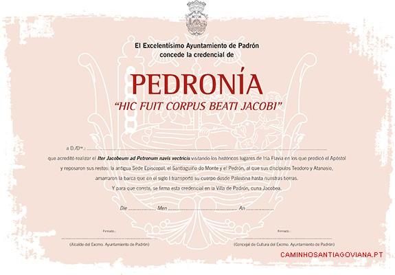 Pedronía del Camino de Santiago