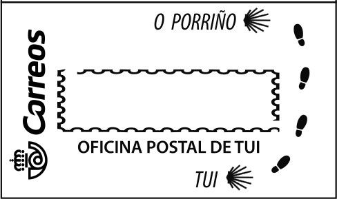 Postmark Tui on the Camino Portugués