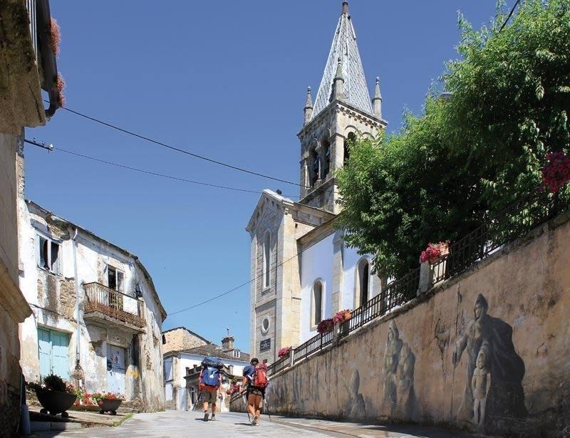 Sarria, principal punto de inicio del Camino de Santiago