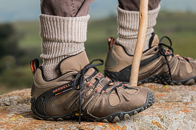 botas camino de santiago