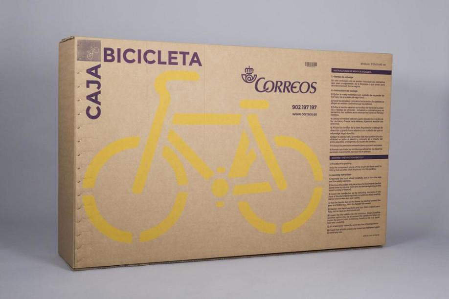 Caja de cartón para bicicleta