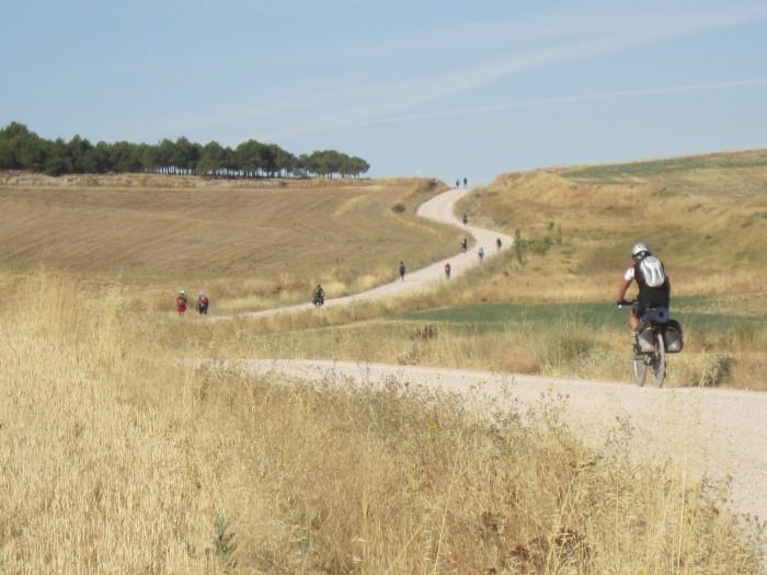 Camino Francés en bicicleta