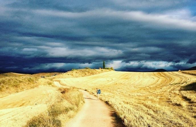 El Camino de Santiago solo