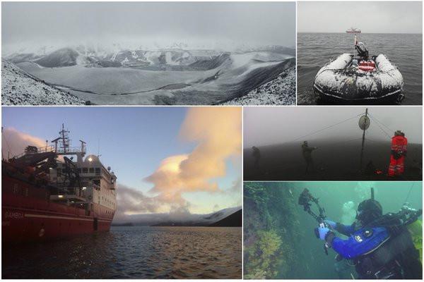 antarctic campaign pictures