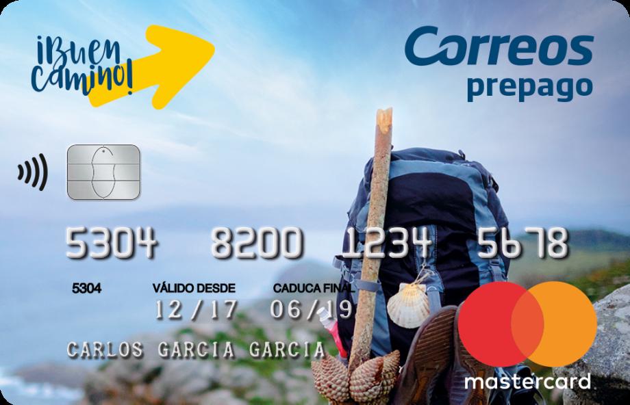 Cartão CORREOS Pré-pago para o Caminho de Santiago