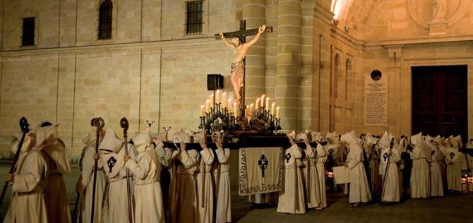 smana santa en el Camino de Santiago, Zamora