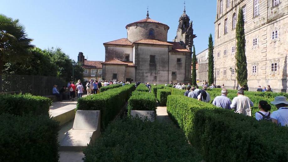 Antiguo cementerio de peregrinos, en Santiago de Compostela