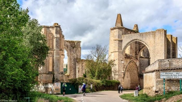 Convento de San Antón, Camino Francés