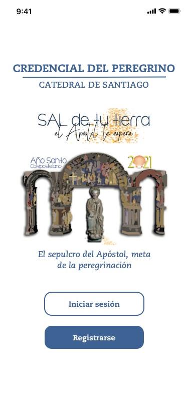 Credencial Digital del peregrino para el Camino de Santiago