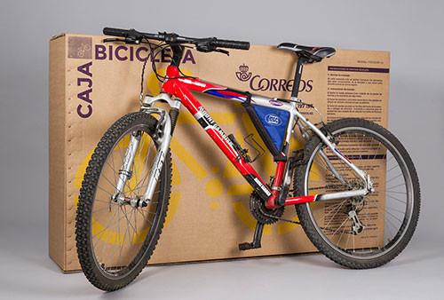 Envío bicicleta