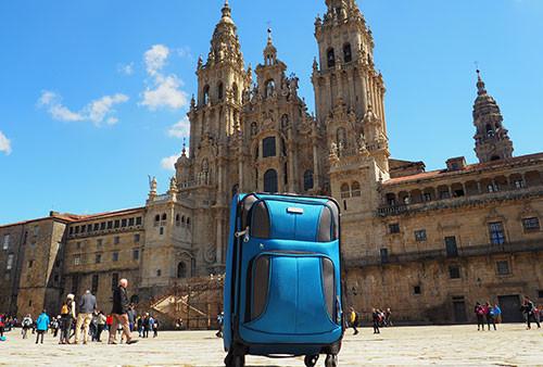 Send luggage along the Camino