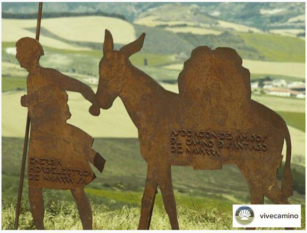 monumentos dedicados a los peregrinos y al camino