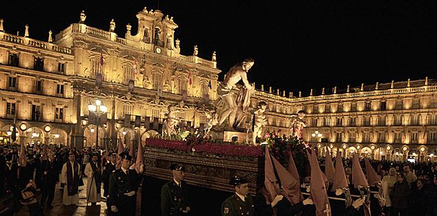 Semana Santa en el Camino de Santiago, Salamanca