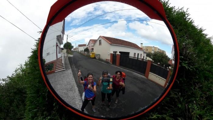 selfies en el camino de santiago