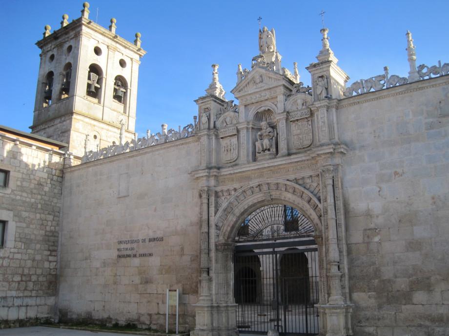 Hospital del Rey de Burgos, hoy propiedad de la universidad
