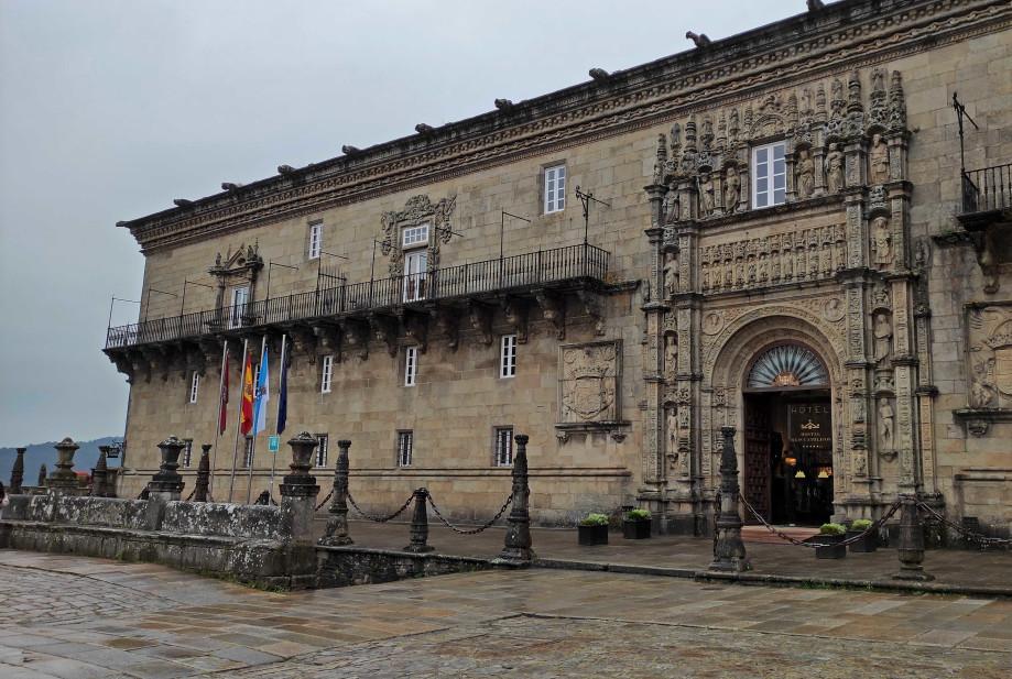 Hospital Real de Santiago, actualmente Hostal de los Reyes Católicos