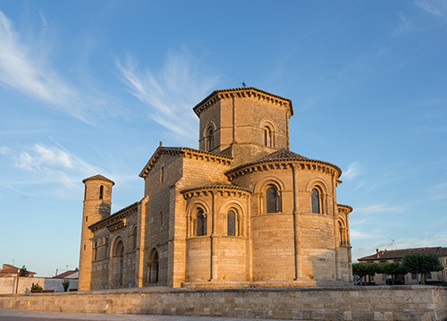 San Martín de Frómista, monumentos en el camino de santiago