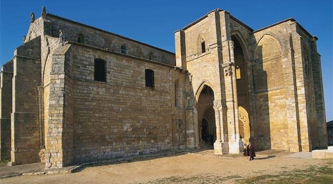 Iglesia de los templarios en el camino de santiago