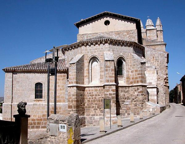 Iglesia templaria en el camino de santiago