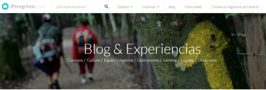iperegrinos blog camino