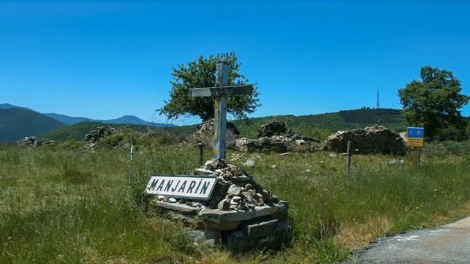 Manjarín, pueblo del Camino Francés