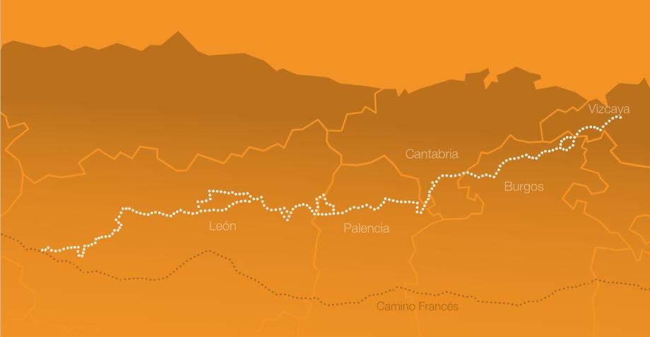 Mapa del Camino Olvidado