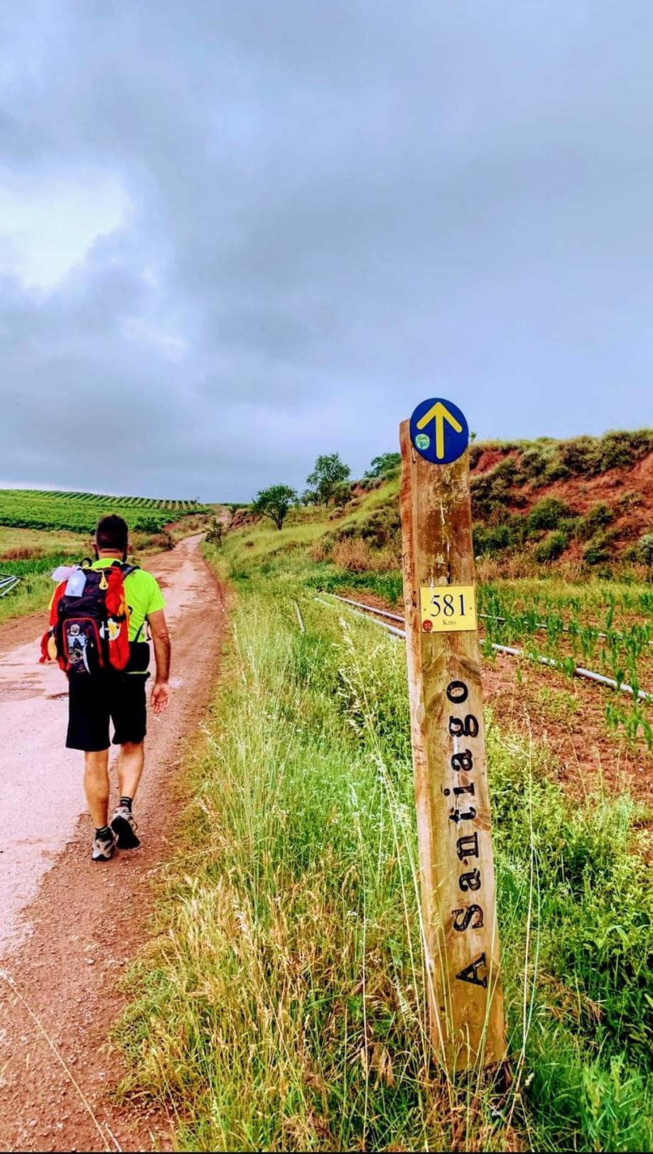 La luz del Camino, peregrinación de Roncesvalles a Santiago