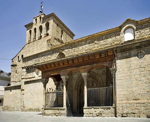 monumentos en el camino de santiago Catedral de Jaca