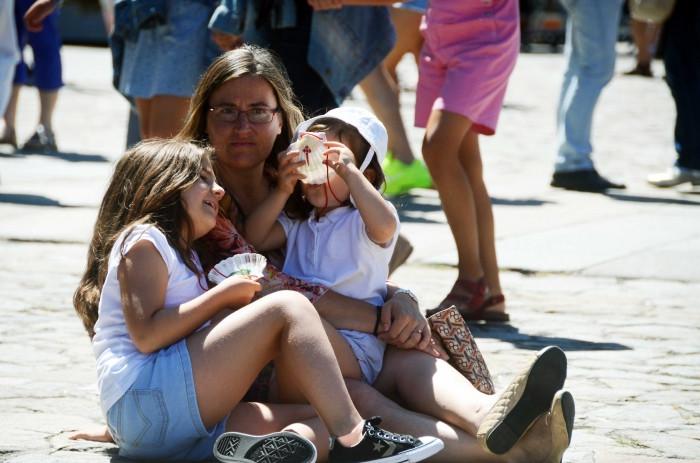 Los niños también pueden ser peregrinos en el Camino de Santiago