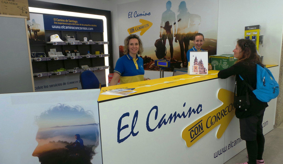 Oficinas de correos en el camino de santiago for Oficina de correo barcelona