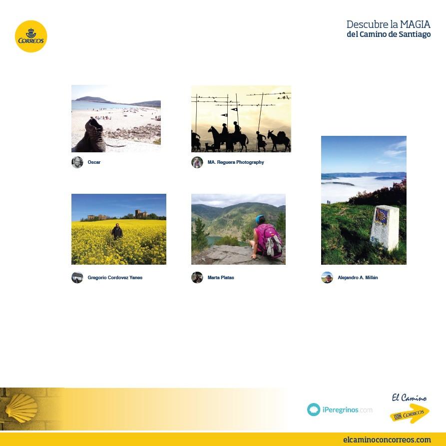 paisajes de las rutas jacobeas