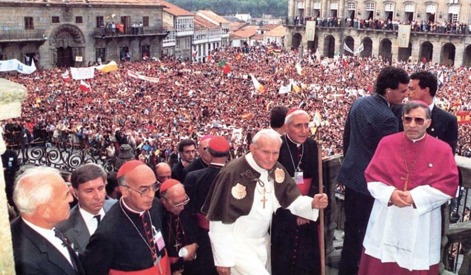 Peregrinación del Papa Juan Pablo II a Santiago de Compostela