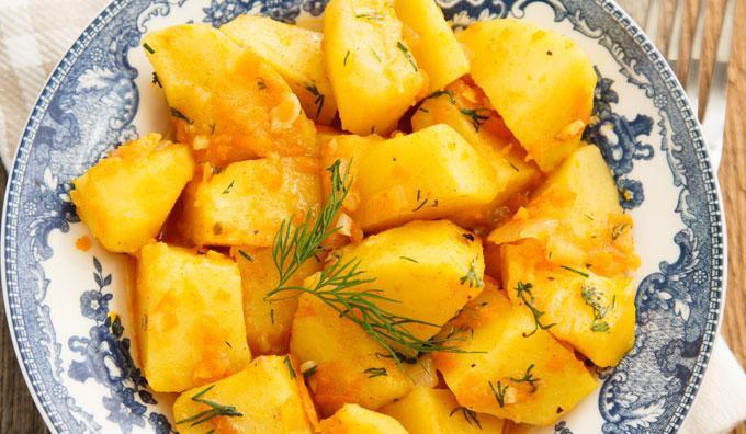 patatas viudas gastronomia en el camino de santiago