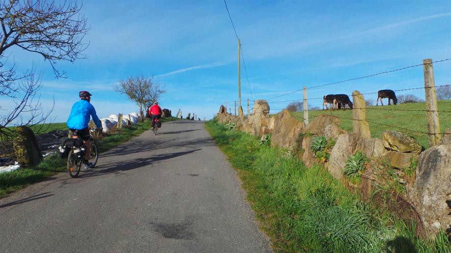 cycling camino santiago