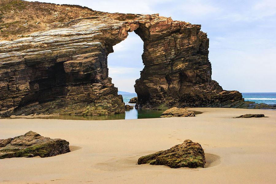 playa catedrales praia catedrais