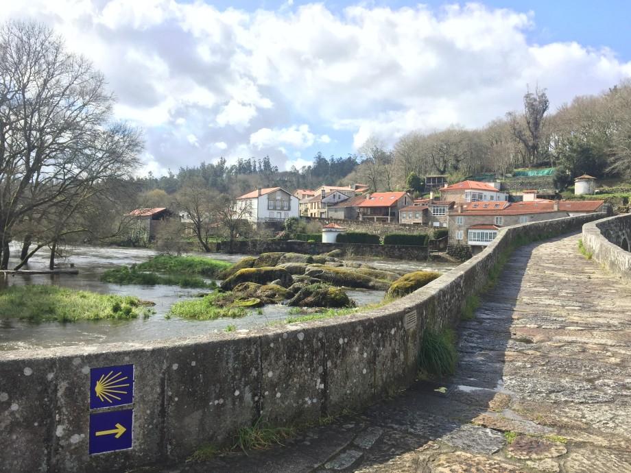 Ponte Maceira, primera etapa del Camino a Fisterra y Muxía