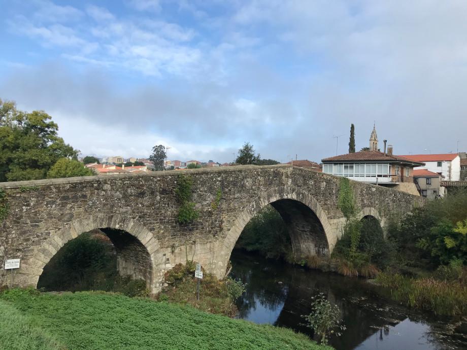 Puente de San Xoán de Furelos, en Melide, Camino Francés