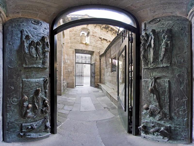 Puerta Santa de la Catedral de Santiago de Compostela