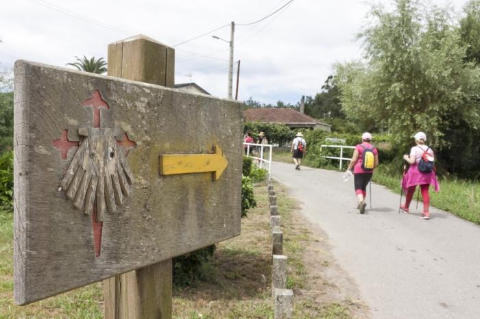 Señales del Camino de Santiago