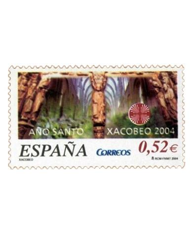 Sello dedicado al Año Santo Compostelano en 2004