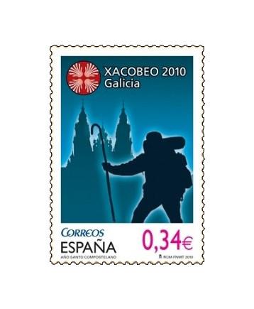Sello dedicado al Año Santo Compostelano en 2010