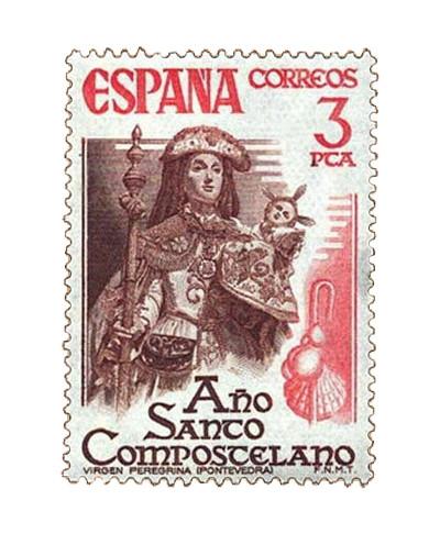 Sello dedicado al Año Santo Compostelano