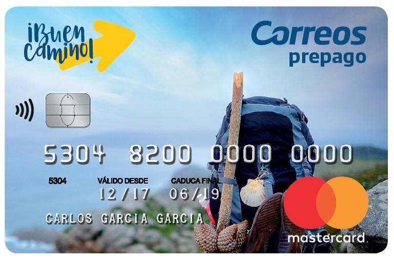 Targeta CORREOS Prepago Mastercard para el Camino de Santiago
